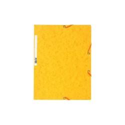 Gumis mappa karton Exacompta prespán A/4 sárga