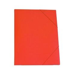 Gumis mappa karton A/4 piros