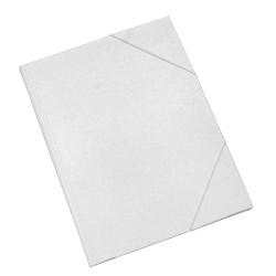 Gumis mappa karton pd A/4 fehér