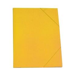 Gumis mappa karton A/4 sárga