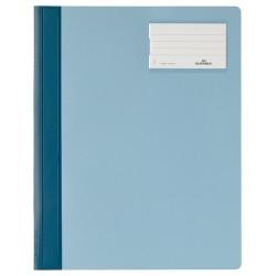 Gyorsfűző PVC Durable A/4 azonos előlappal extra széles kék