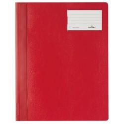 Gyorsfűző PVC Durable A/4 azonos előlappal extra széles piros