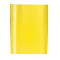 Gyorsfűző PP pd A/4 sárga