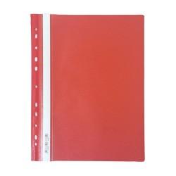 Gyorsfűző PP pd A/4 lefűzhető piros