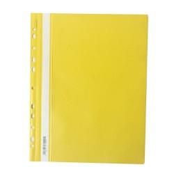 Gyorsfűző PP pd A/4 lefűzhető sárga