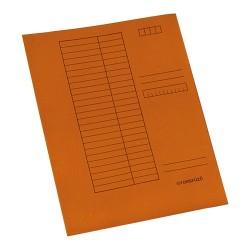 Gyorsfűző papír A/4 narancssárga