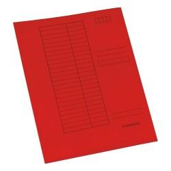 Gyorsfűző papír A/4 piros
