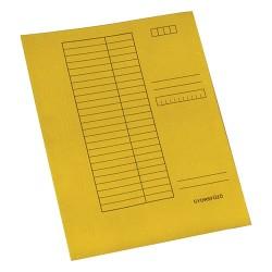 Gyorsfűző papír A/4 sárga