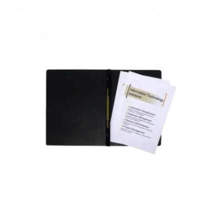 Gyorsfűző papír Exacompta A/4 prespán 265g fekete