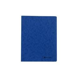 Gyorsfűző papír Exacompta A/4 prespán 265g kék