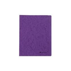 Gyorsfűző papír Exacompta A/4 prespán 265g lila