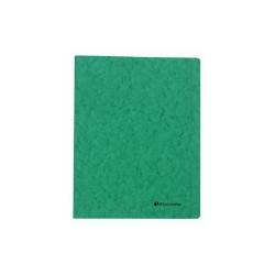 Gyorsfűző papír Exacompta A/4 prespán 265g zöld