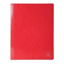 Gyorsfűző papír Exacompta Iderama A/4 piros