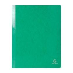 Gyorsfűző papír Exacompta Iderama A/4 zöld