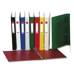Gyűrűs könyv Esselte Standard Vivida A/4 2 gyűrűs 42 mm gerinccel bordó 14456