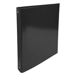 Gyűrűs könyv Exacompta Iderama A/4 4 gyűrűs 40 mm gerinccel fekete