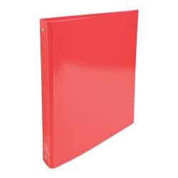 Gyűrűs könyv Exacompta Iderama A/4 4 gyűrűs 40 mm gerinccel piros