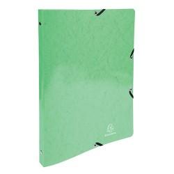 Gyűrűs könyv Exacompta Iderama A/4 2 gyűrűs 20 mm gerinccel lime-zöld