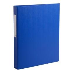 Gyűrűs könyv Exacompta A/4 2 gyűrűs 40 mm gerinccel PP kék