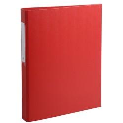 Gyűrűs könyv Exacompta A/4 2 gyűrűs 40 mm gerinccel PP piros