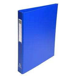 Gyűrűs könyv Exacompta A/4 4 gyűrűs 40 mm gerinccel PP kék