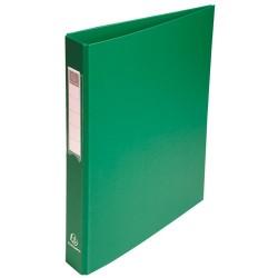 Gyűrűs könyv Exacompta A/4 4 gyűrűs 40 mm gerinccel PP zöld