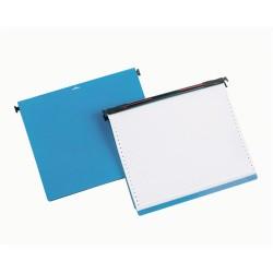 Leporellótároló Durable 305x170x250 mm kék