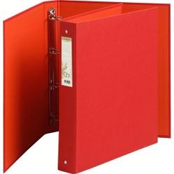Gyűrűs könyv Exacompta Forever A/4 4 gyűrűs 40 mm gerinccel piros