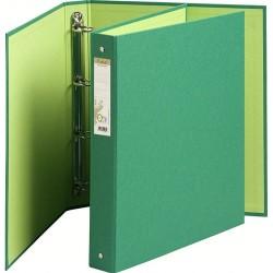 Gyűrűs könyv Exacompta Forever A/4 4 gyűrűs 40 mm gerinccel zöld