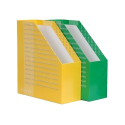 Iratpapucs karton merev falú Diplomat A/4 9 cm gerinccel szöges zöld