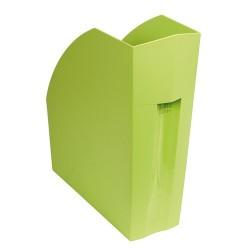 Iratpapucs műanyag Exacompta Forever A/4+ 11 cm gerinccel zöld