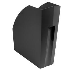 Iratpapucs műanyag Exacompta/Multiform A/4+ 11 cm gerinccel fekete