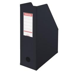 Iratpapucs karton összehajtható Esselte A/4 10 cm gerinccel fekete 56077