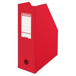 Iratpapucs karton összehajtható Esselte A/4 10 cm gerinccel piros 56073