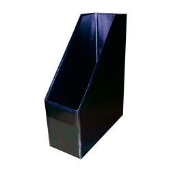 Iratpapucs PVC A/4 10 cm gerinccel fekete