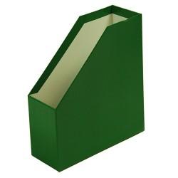 Iratpapucs karton merev falú pd A/4 9 cm gerinccel fóliás zöld