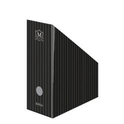Iratpapucs karton összehajtható Herlitz Montana A/4 11 cm gerinccel fekete