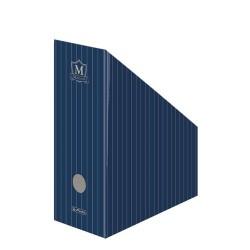 Iratpapucs karton összehajtható Herlitz Montana A/4 11 cm gerinccel kék