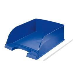 Irattálca műanyag Leitz Plus Jumbo A/4 kék 52330035