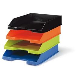 Irattálca műanyag Exacompta Combo Midi A/4+ matt fekete