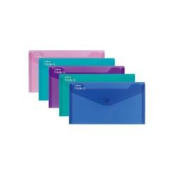 Irattartó tasak Snopake DL patentos élénk színek