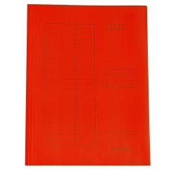 Pólyás iratgyűjtő A/4 piros