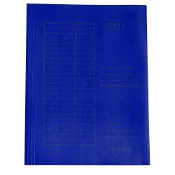 Pólyás iratgyüjtő A/4 kék