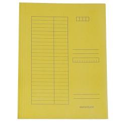 Pólyás iratgyűjtő A/4 sárga