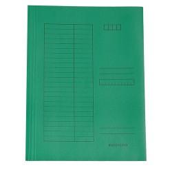 Pólyás iratgyűjtő A/4 zöld