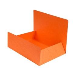 Pólyás iratgyűjtő Exacompta A/4 prespán 400g narancssárga