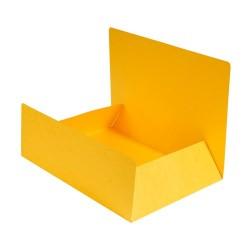Pólyás iratgyűjtő Exacompta A/4 prespán 400g sárga
