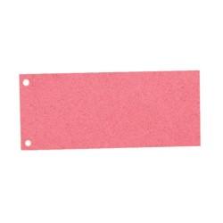 Elválasztócsík karton Esselte 105x240 mm piros 20995