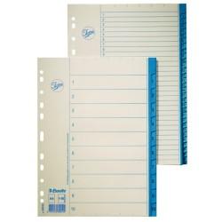 Regiszter papír Esselte A/4 A-Z-ig 69910