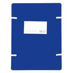 Szalagos irományfedél A/4 1050g kék